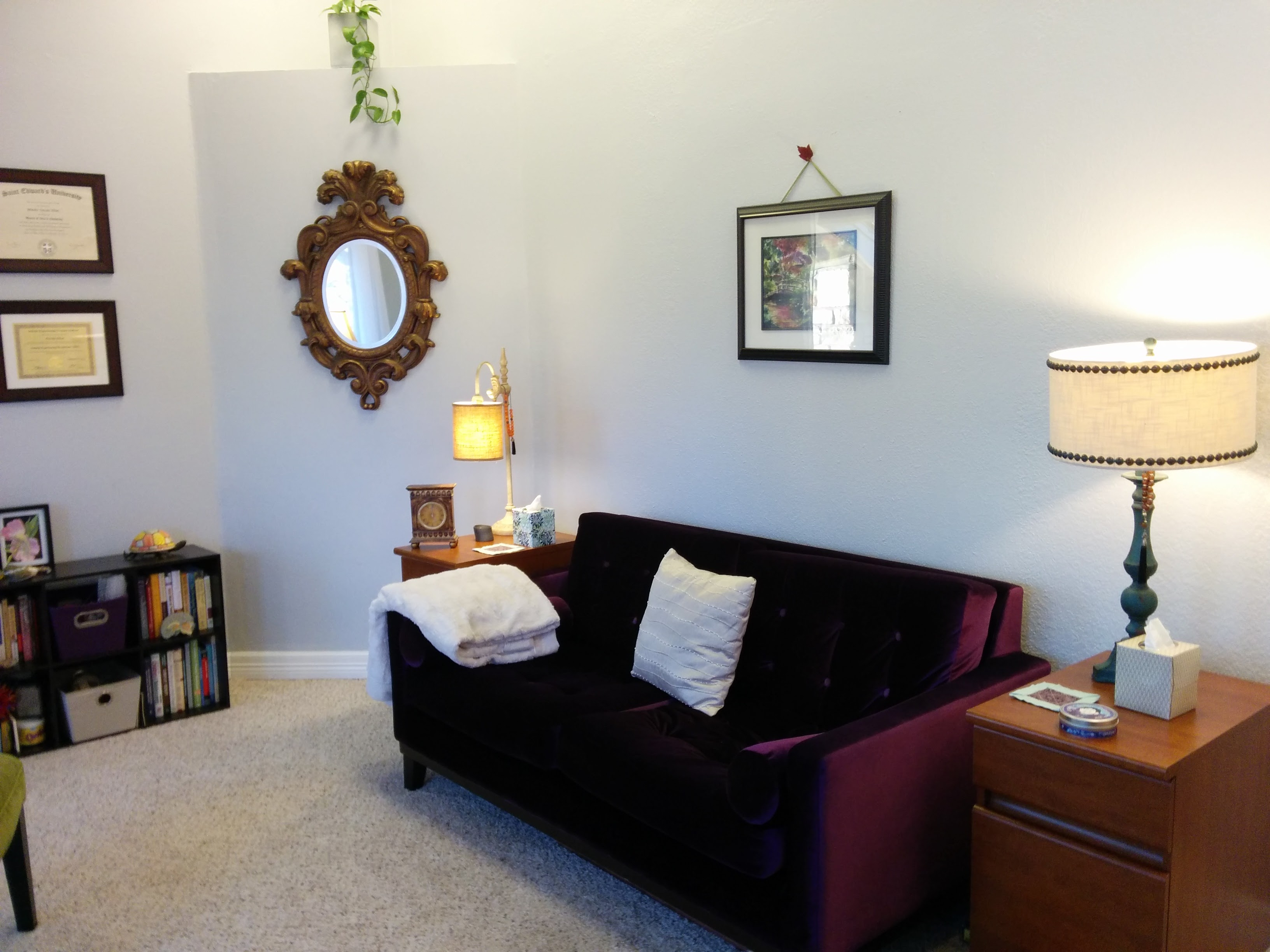 Counseling office of Priscilla Elliott
