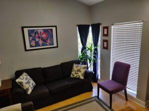 Corner Office view from Doorway